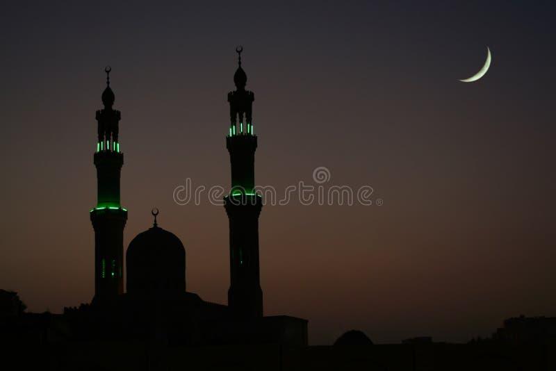 阿拉伯晚上 免版税库存图片