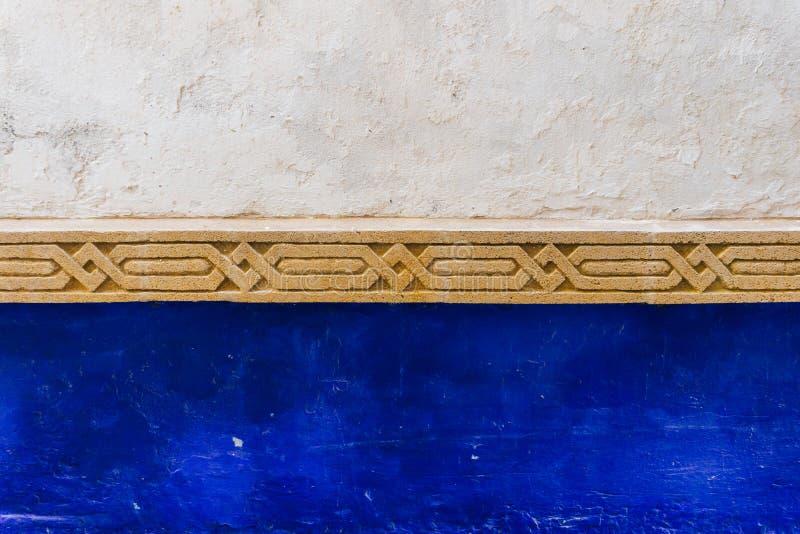 阿拉伯样式,东方伊斯兰教的装饰品 摩洛哥瓦片或者摩洛哥zellij传统马赛克 库存照片