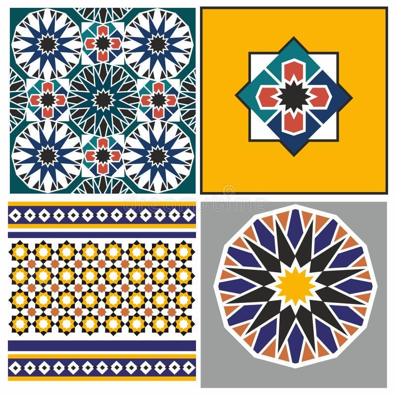 阿拉伯模式 库存例证