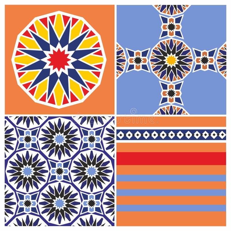 阿拉伯模式 库存照片