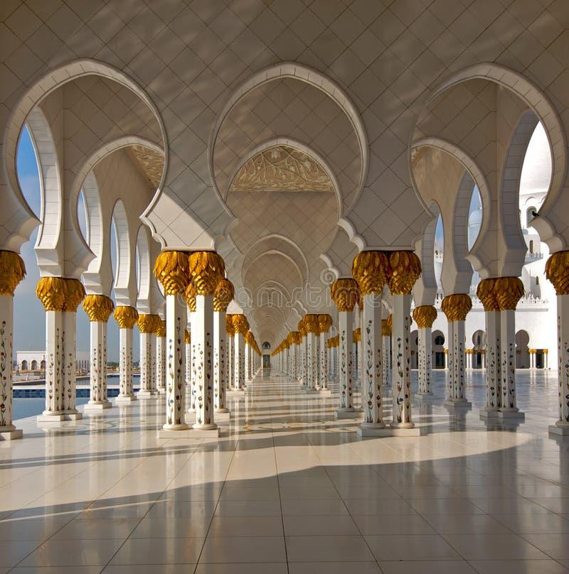 阿拉伯清真寺 免版税库存图片