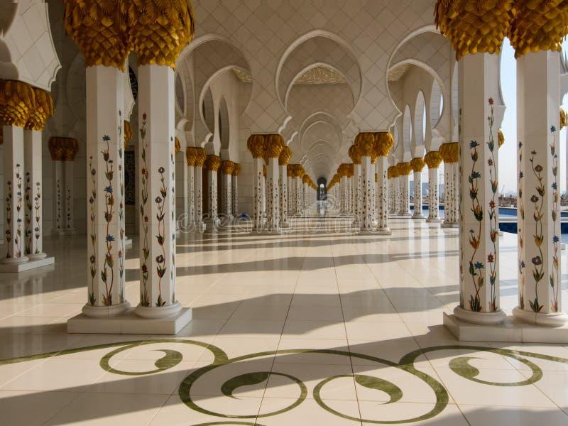 阿拉伯清真寺 库存图片