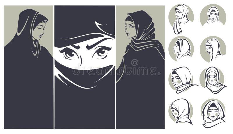 Download 阿拉伯秀丽 向量例证. 插画 包括有 可耕的, 长期, 方式, beautifuler, 眼睛, 装饰, 例证 - 62538578