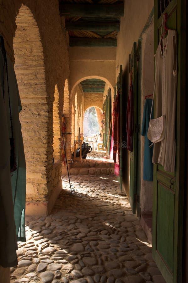 阿拉伯结构摩洛哥 库存图片