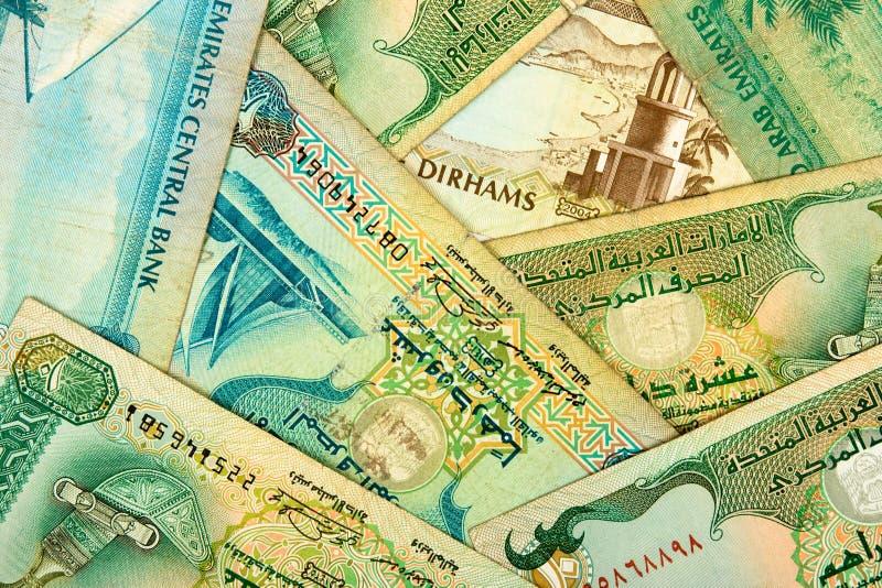 阿拉伯背景货币 图库摄影