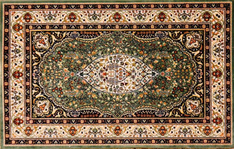 阿拉伯花卉模式地毯 免版税库存图片