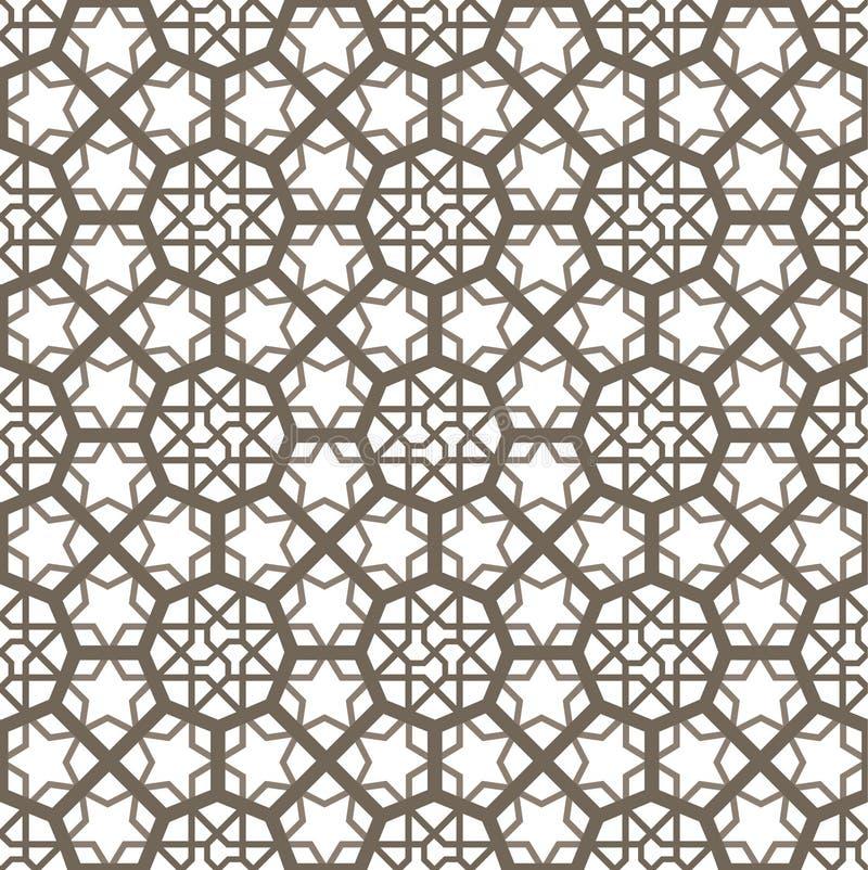 阿拉伯装饰品 皇族释放例证