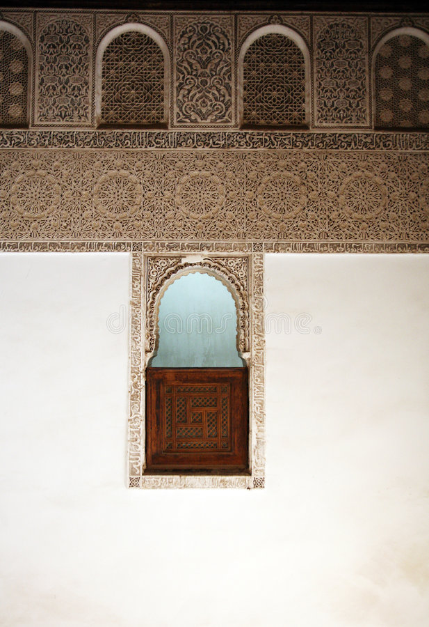 阿拉伯视窗 库存照片