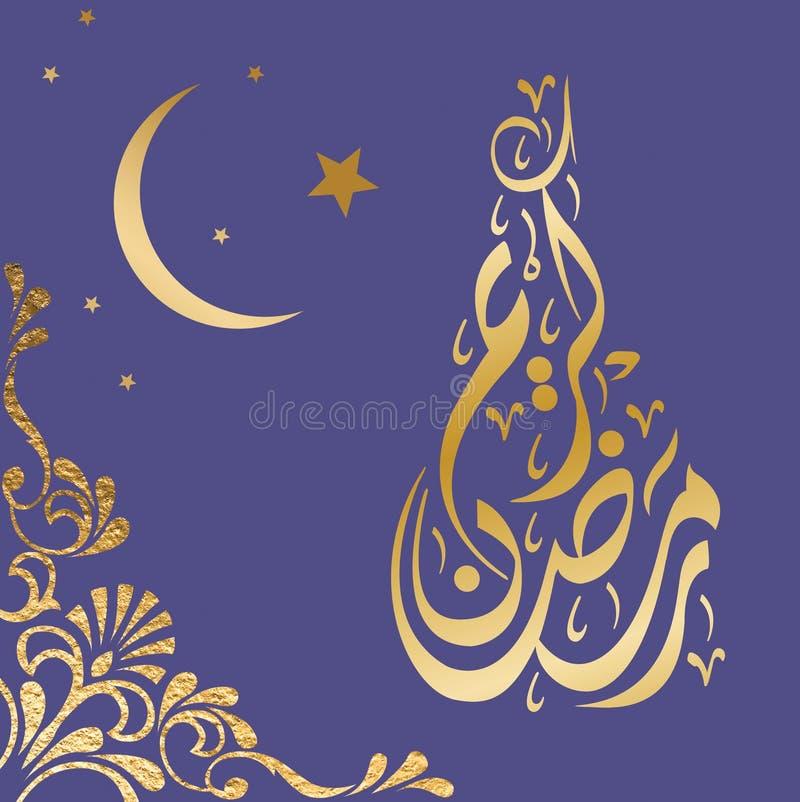 阿拉伯设计晚上 向量例证