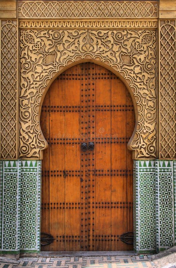阿拉伯门 免版税图库摄影