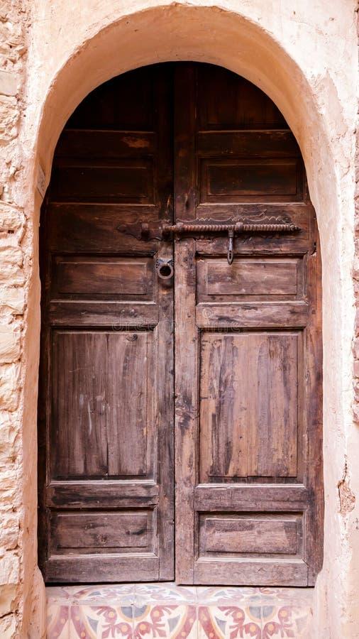 阿拉伯门 库存图片