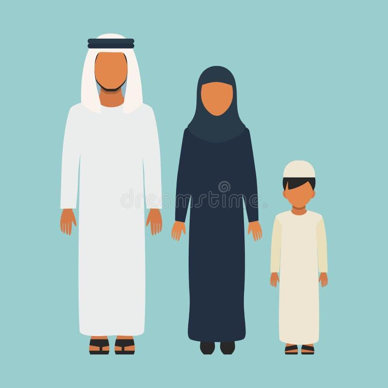 阿拉伯系列 向量例证