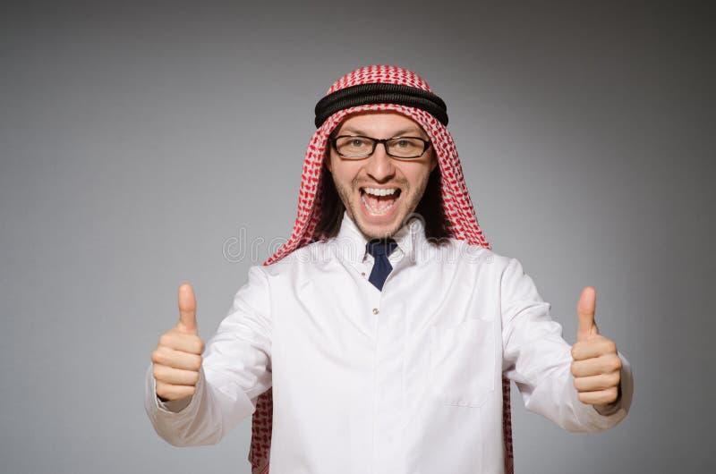 阿拉伯医生 免版税库存照片