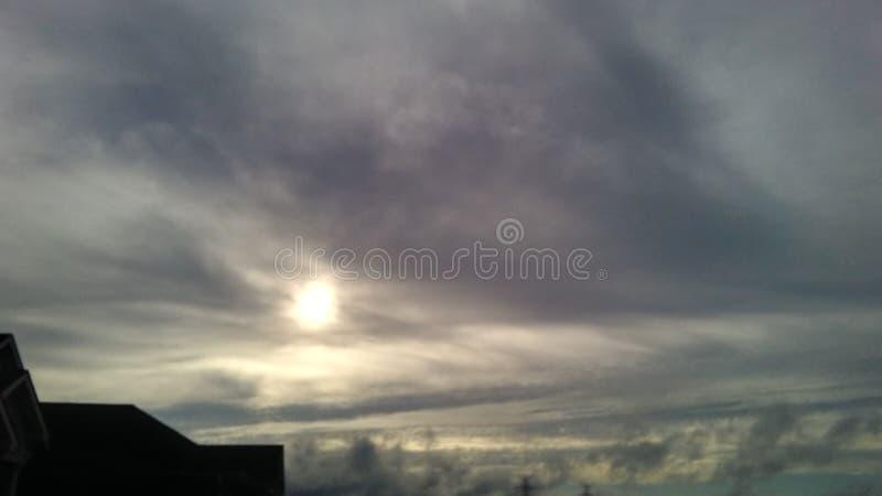 阿拉巴马天空 免版税库存照片