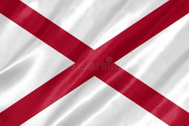 阿拉巴马旗子 库存图片