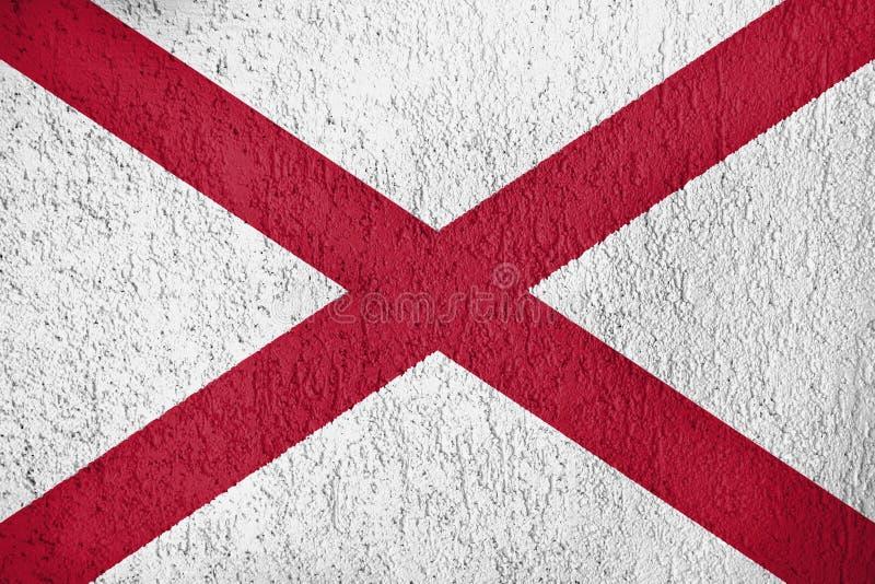 阿拉巴马标志 皇族释放例证