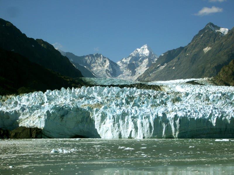 阿拉斯加冰川margerie 免版税库存图片