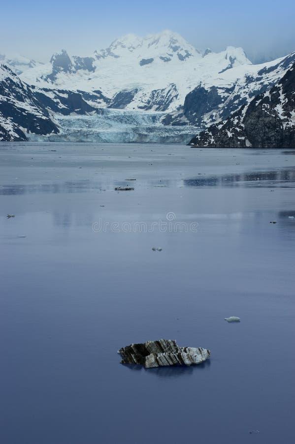 阿拉斯加在国家公园段落里面的海湾&# 库存照片