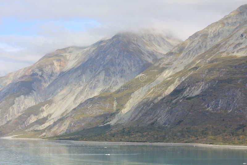 阿拉斯加山脉冰河海湾国家公园 免版税库存照片