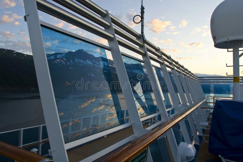 阿拉斯加巡航 免版税库存图片