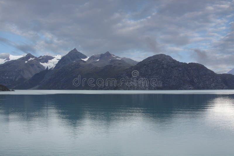 阿拉斯加海湾冰川国家公园 库存照片
