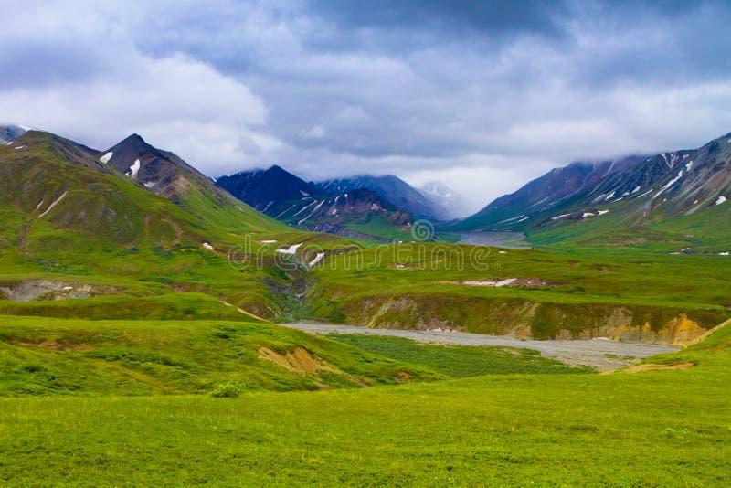 阿拉斯加的国家公园 免版税图库摄影