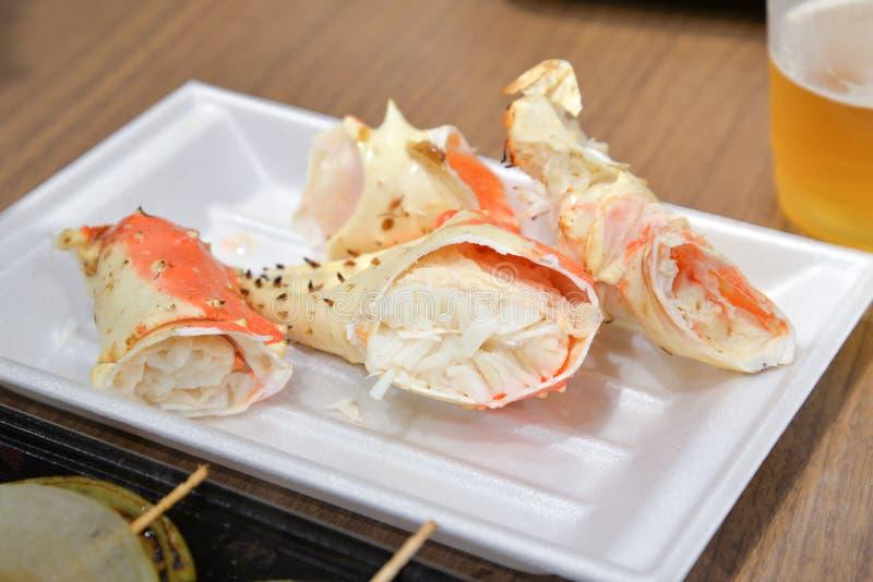 阿拉斯加的巨蟹,大阪,日本 免版税库存图片