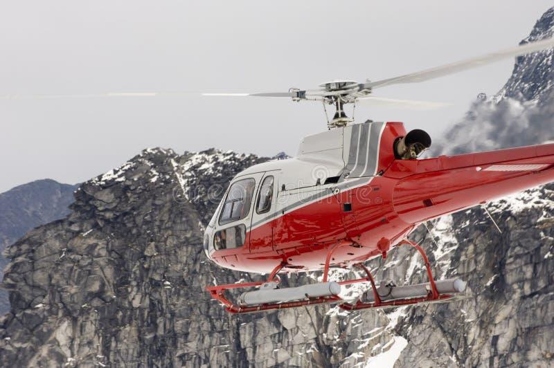 阿拉斯加的直升机系列 免版税库存图片