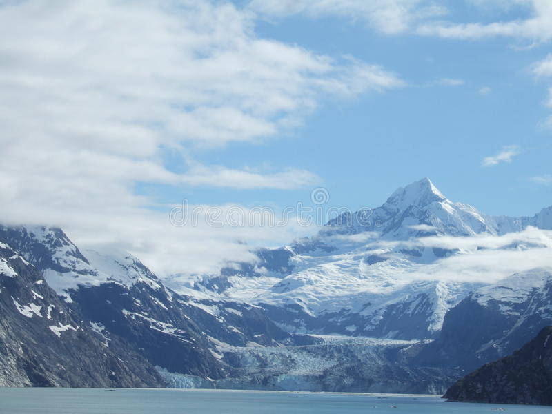 阿拉斯加风景 免版税库存照片