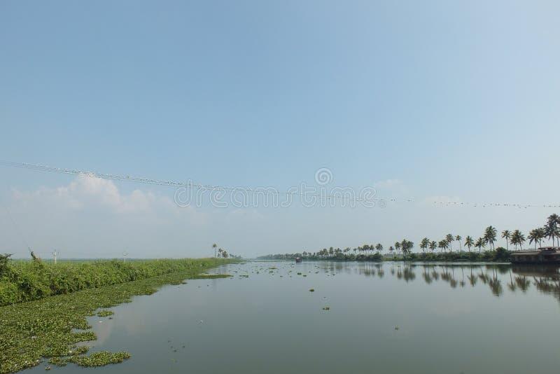 阿拉普扎背景摄影:喀拉拉旅游 免版税库存图片