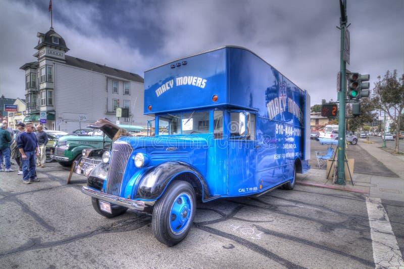 阿拉米达公园街道经典车展2013年 免版税库存照片