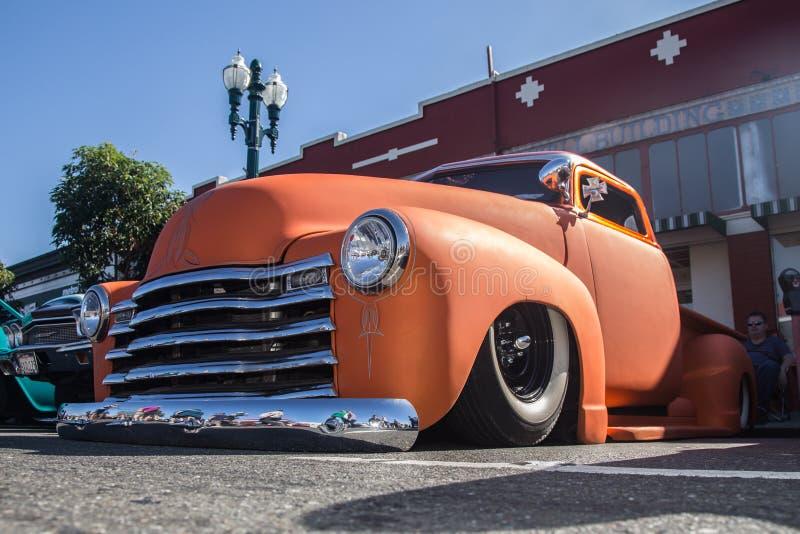 阿拉米达公园街道经典车展2014年 免版税库存图片