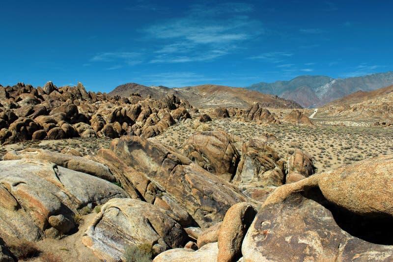 阿拉巴马小山,内华达山山,加利福尼亚,美国 免版税图库摄影
