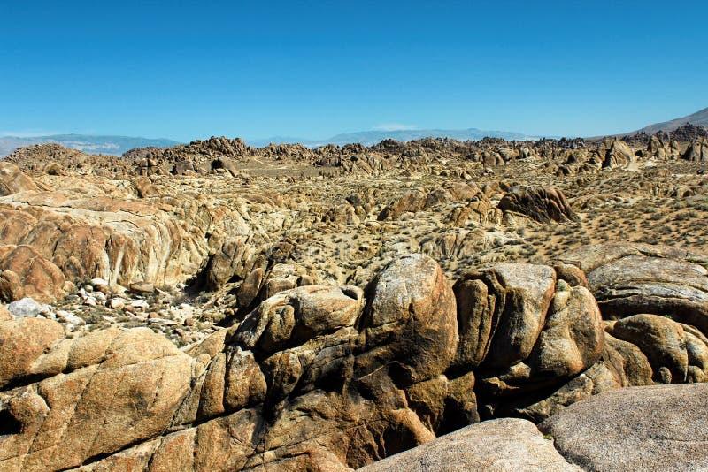 阿拉巴马小山,内华达山山,加利福尼亚,美国 库存图片