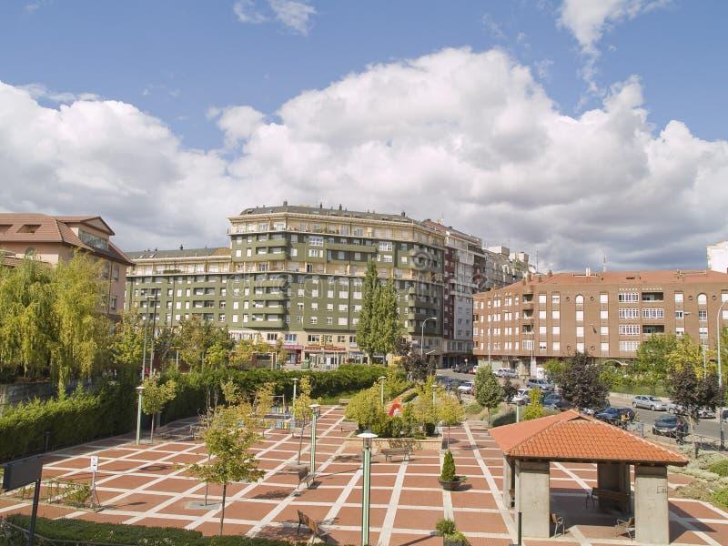 阿斯托加,利昂省,西班牙 免版税库存照片