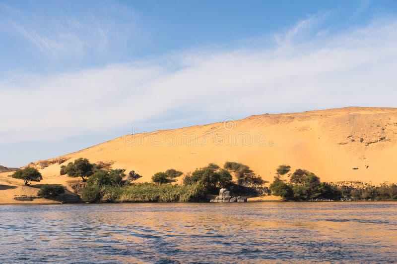 阿斯旺,埃及 免版税图库摄影