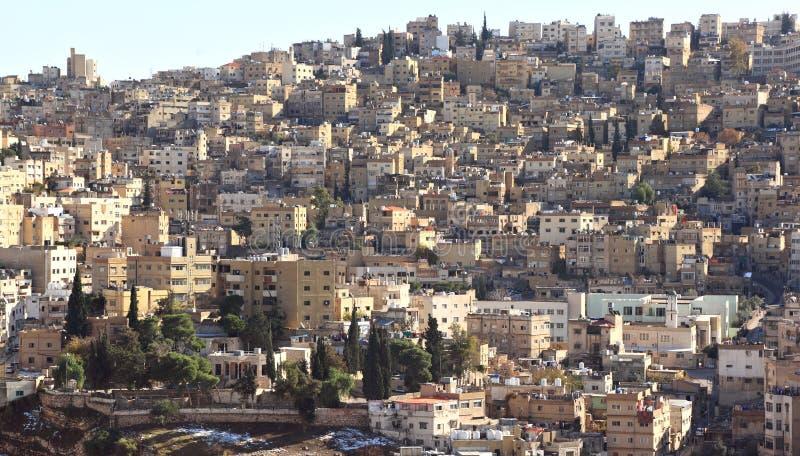 阿曼,约旦 免版税库存照片