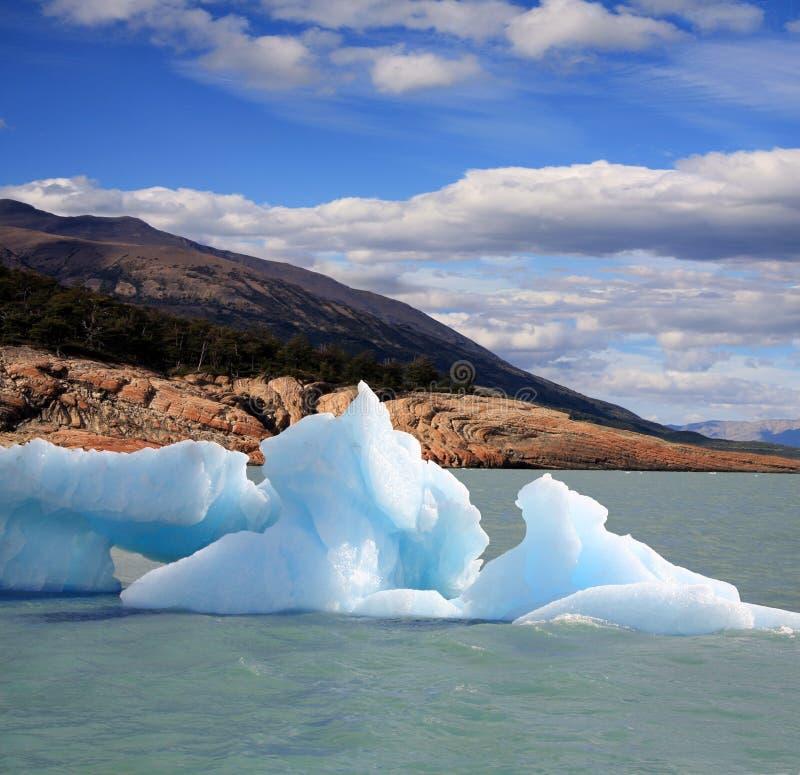 阿根廷冰山湖 免版税库存图片