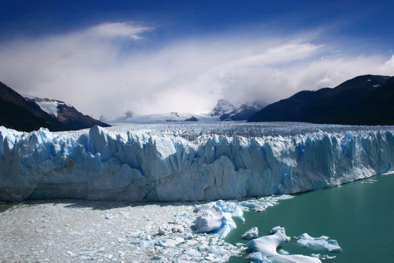 阿根廷冰川莫尔诺perito 免版税库存图片
