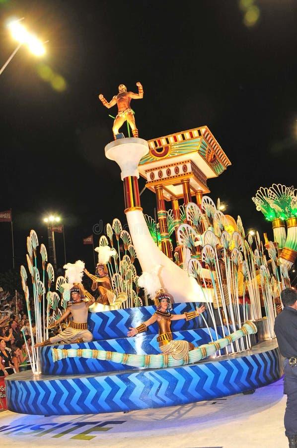 阿根廷狂欢节 库存图片