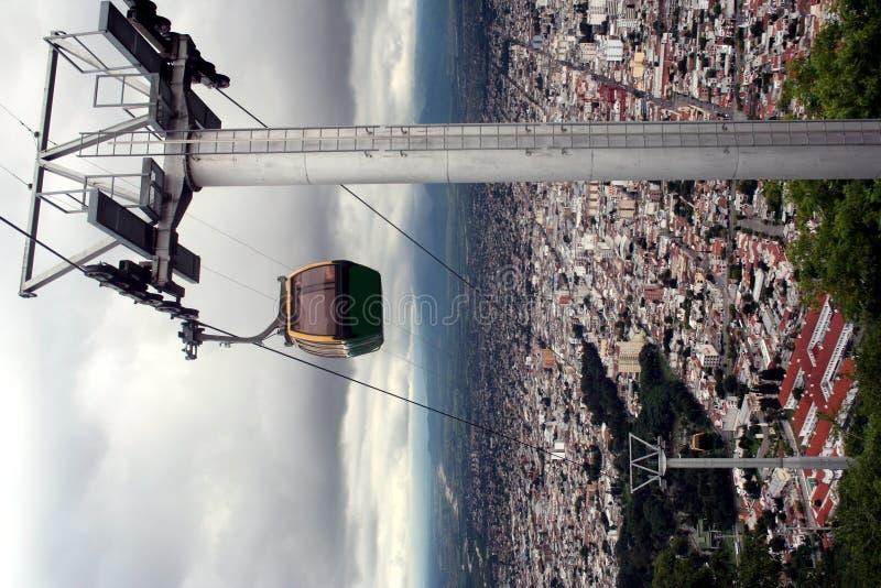 阿根廷缆车salta 免版税图库摄影