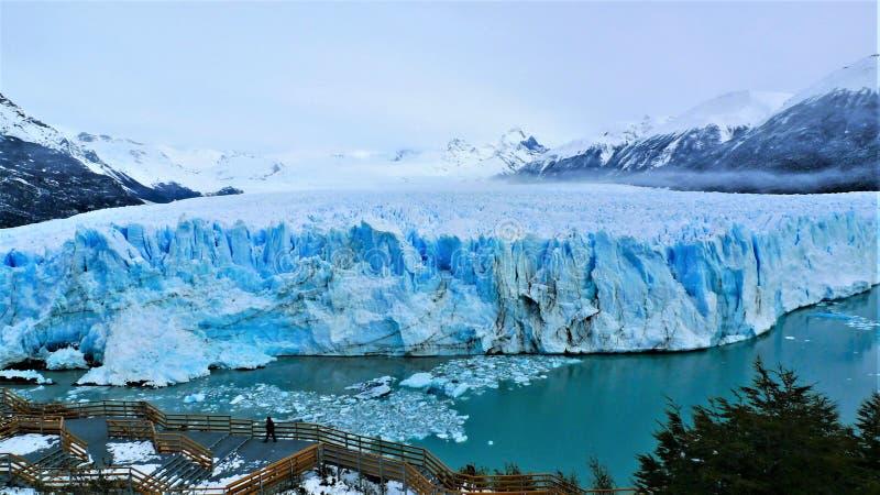 阿根廷,佩里托莫雷诺冰川 免版税库存图片