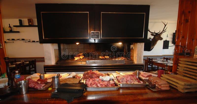 阿根廷asado 免版税库存照片