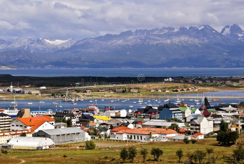 阿根廷ushuaia 免版税库存照片
