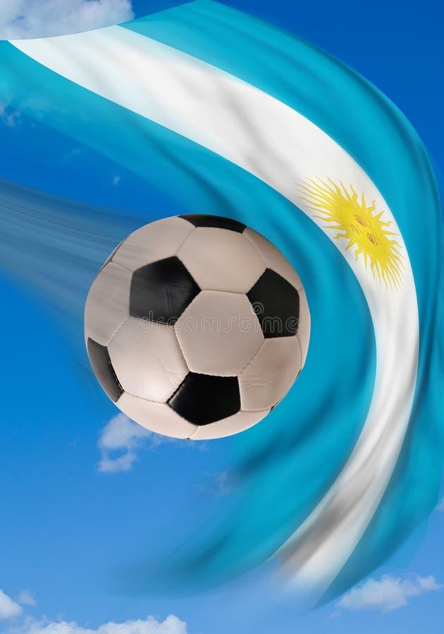 阿根廷足球 皇族释放例证
