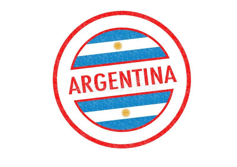 阿根廷 向量例证