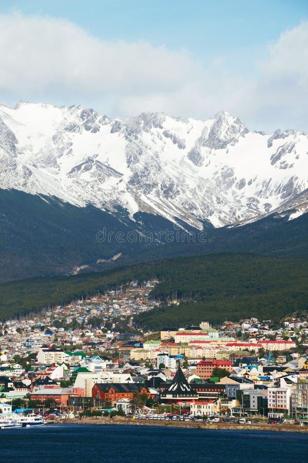 阿根廷ushuaia 免版税库存图片