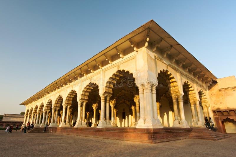阿格拉堡垒印度 库存照片