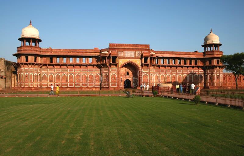 阿格拉堡垒印度 免版税库存照片