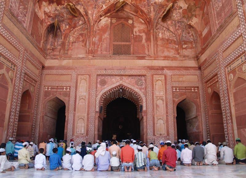 阿格拉fatehpur印度sikri 库存图片